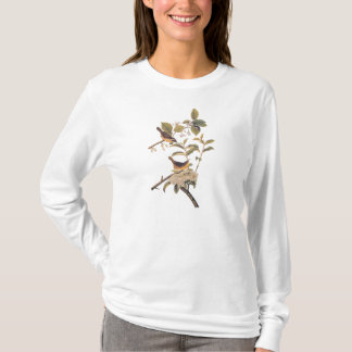 Maryland Yellowthroat Audubon Birds in Olive Tree T-Shirt