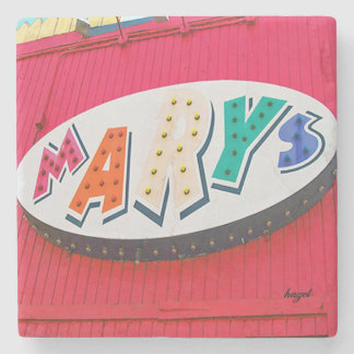 Mary's, EAV, East Atlanta Village, Atlanta Coasste Stone Coaster
