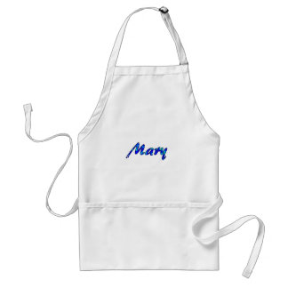 Mary's white small apron