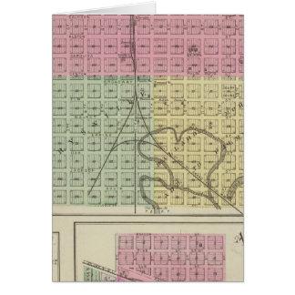 Marysville, Bigelow, and Axtell, Kansas Card
