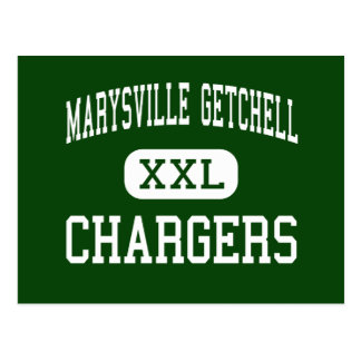 Marysville Getchell - Chargers - High - Marysville Postcards