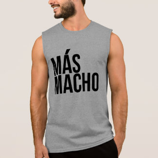 Mas macho sleeveless shirt