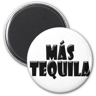 Mas Tequila Refrigerator Magnet