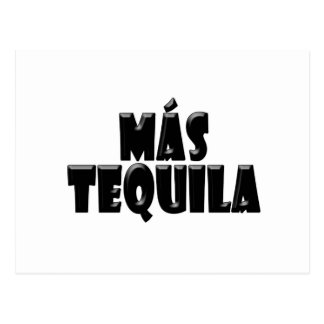 Mas Tequila Postcard