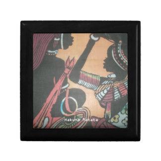 MASAI Hakuna Matata.JPG Small Square Gift Box