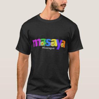 Masaya Nicaragua Sacuanjoche Flower T-shirt