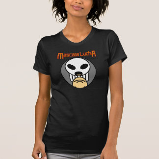 Mascara Lucha - Craneo Oscuro T Shirts