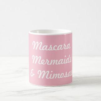 Mascara, Mermaids & Mimosas Coffee Mug