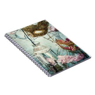Maschera Birds Nest notpad Spiral Notebook