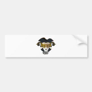 Maschera-Veneziana Bumper Sticker