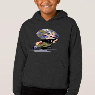 MASCOTTE ALIEN CARTOON Kids' Fleece Pullover Hoodi