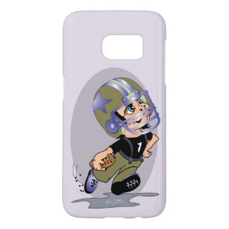 MASCOTTE FOOTBALL CARTOON Samsung Galaxy S7  BT