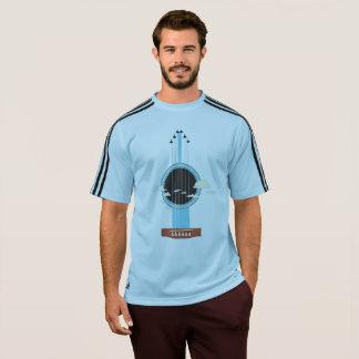 """Masculine Adidas shirt """"Violão """""""