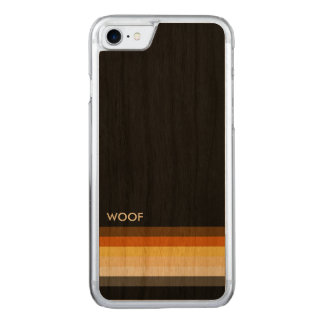 Masculine and Sleek Gay Bear Pride Flag woof Carved iPhone 8/7 Case