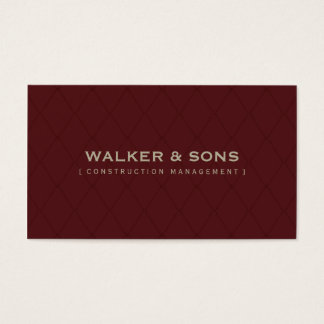 MASCULINE BUSINESS CARD :: simply smart 4