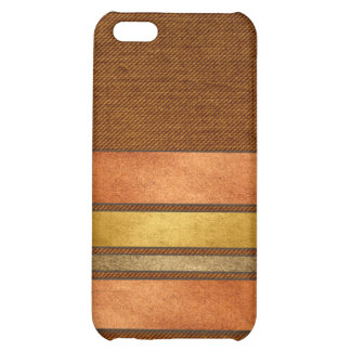 Masculine Cigar Band Stripes Cover For iPhone 5C