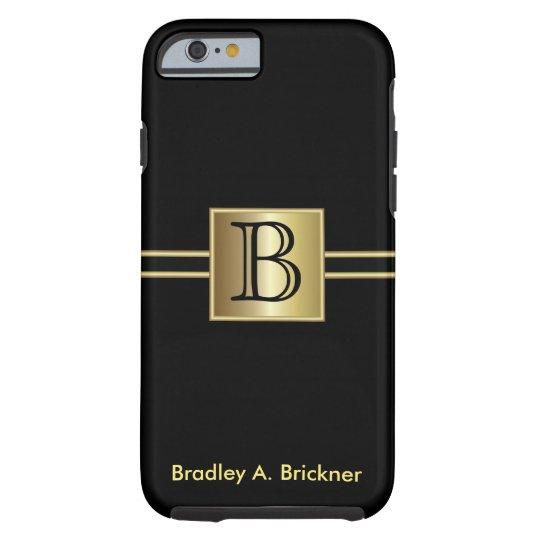 Masculine Executive Style   DIY Monogram Tough iPhone 6 Case