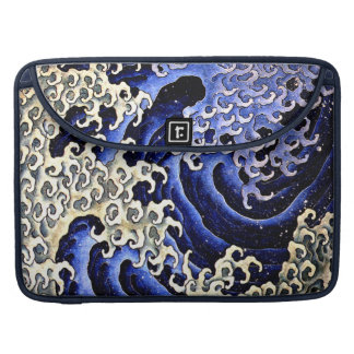Masculine Wave (Detail) by Hokusai Sleeve For MacBook Pro