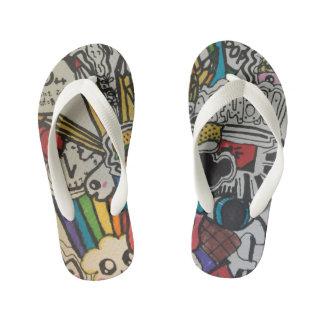 Mash Art Flip Flops