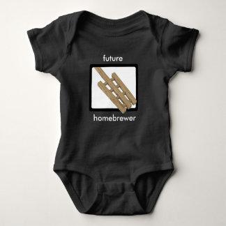 Mash Paddle - Future Homebrewer Baby Bodysuit