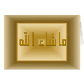 Masha Allah Card