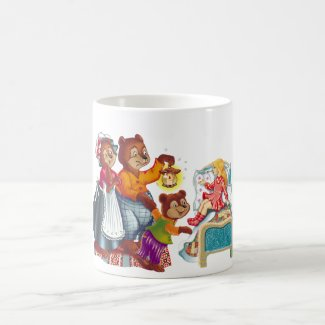 Masha and 3 bears coffee mug