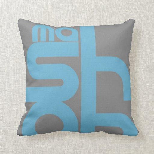 Mashable Throw Pillows
