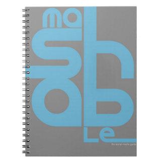 Mashable Spiral Notebook