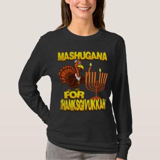 Mashugana For Thanksgivukkah Turkey Menorah Shirt