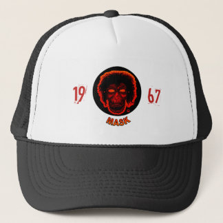 Mask - 1967 - Sunset Red Trucker Hat