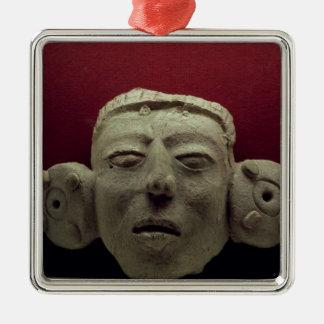 Mask, 500-900 AD Christmas Ornament