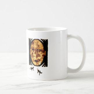 Mask Basic White Mug