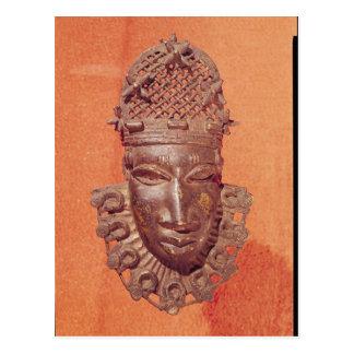 Mask, Benin Postcard