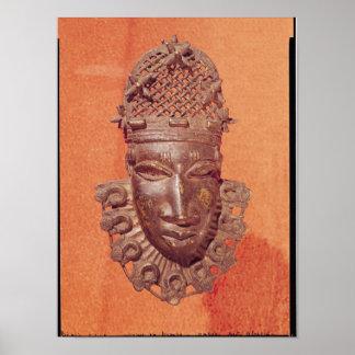 Mask, Benin Poster