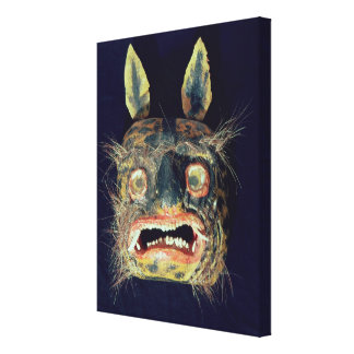 Mask Stretched Canvas Print