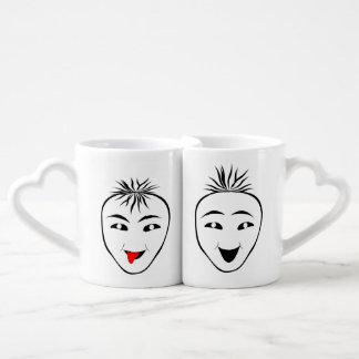 Mask Coffee Mug Set