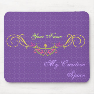 mask,Customize your Creative Space Mouse Pad