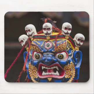 Mask dance performance at Tshechu Festival 2 Mouse Pad
