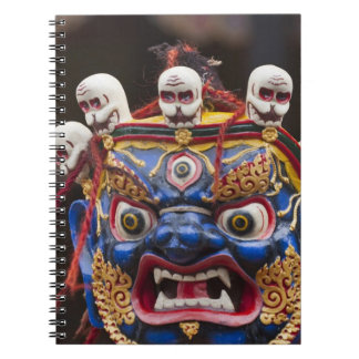 Mask dance performance at Tshechu Festival 2 Notebook