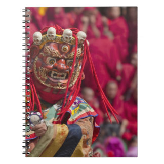Mask dance performance at Tshechu Festival 3 Notebook