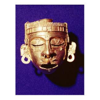 Mask of the god Xipe Totec Postcard