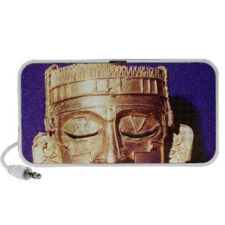 Mask of the god Xipe Totec iPhone Speaker