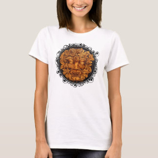 Mask of the Green Man - Women's Shirt