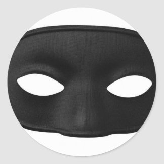 MASK ROUND STICKER