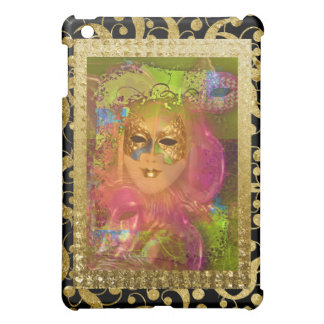 Mask venetian masquerade costume party iPad mini covers