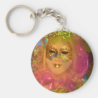 Mask venetian masquerade costume party key chain