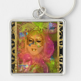 Mask venetian masquerade costume party keychains