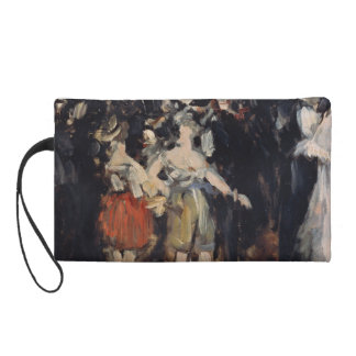 Masked Ball at the Opera by Edouard Manet Wristlet Purses