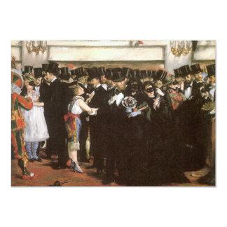 Masked Ball at the Opera, Manet, Vintage Fine Art Cards