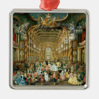 Masked Ball in the Hoftheater, Bonn, 1754 Christmas Ornament